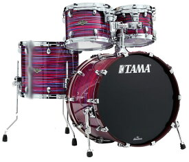 "TAMA《タマ》 WBS42S-LPO [Starclassic Walnut/Birch 4pc Set (22""BD, 16""FT, 12"" & 10""TT with Double Tom Holder) / Lacquer Phantasm Oyster]【お取り寄せ品】"