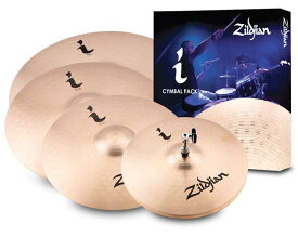 "Zildjian/i 《ジルジャン》 i Pro Gig Pack [NAZLILHPRO / 14"" HiHats, 16"" Crash, 18"" Crash, 20"" Ride]"