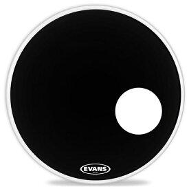 """【EVANSドラムヘッド2020年 夏キャンペーン!】EVANS/バスドラムヘッド《エバンス》 BD22RONX [EQ3 Resonant Onyx 22"""" / Bass Drum]【1ply , 7.5mil + 10mil ring】【お取り寄せ品】"""