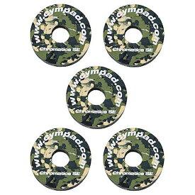 "CYMPAD《シンパッド》 Chromatics / Cymbal Washer ""Camouflage"" 40×15mm 5個セット [LCYMCRM5SET15CM]"