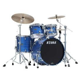 "TAMA《タマ》 WBS42S-LOR [Starclassic Walnut/Birch 4pc Set / Lacquer Ocean Blue Ripple]【22""BD, 16""FT, 12"" & 10""TT】【お取り寄せ品】"
