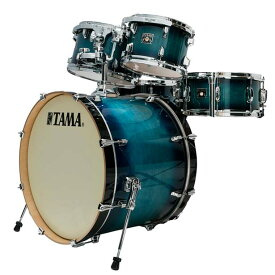 """TAMA《タマ》 CL52KRS-BAB [Superstar Classic(All Maple) / Blue Lacquer Burst]【22""""バスドラム・シェル・キット】【お取り寄せ品】"""