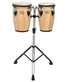 "TYCOON PERCUSSION《タイクーンパーカッション》TCJ-B (N/D) [Junior Conga 8""+9"" w/ Double Stand]【お取り寄せ品】"