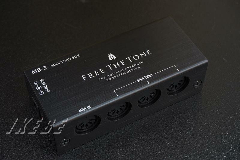 Free The Tone 《フリー・ザ・トーン》 MB-3 [MIDI THRU BOX]
