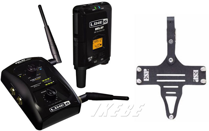 LINE6 《ライン 6》 Relay G50 + ESP TRANSMITTER HOLDER TH-200M Set 【oskpu】