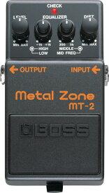 BOSS 《ボス》 MT-2 (Metal Zone) 【期間限定★送料無料】【あす楽対応】【oskpu】