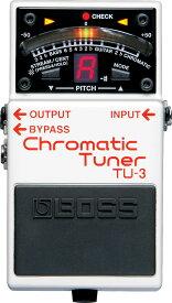 【IKEBE×BOSSオリジナルデザイン風呂敷プレゼント】BOSS 《ボス》 TU-3 (Chromatic Tuner)【期間限定★送料無料】【oskpu】