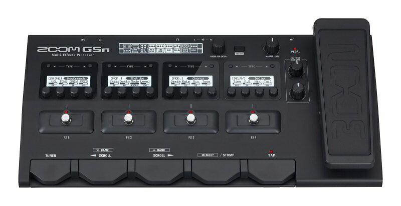ZOOM 《ズーム》 G5n [Multi-Effects Processor] 【ファームウェア・バージョン2.0】【あす楽対応】【送料無料!】【oskpu】