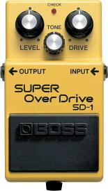 【IKEBE×BOSSオリジナルデザイン風呂敷プレゼント】BOSS 《ボス》 SD-1 (Super OverDrive)【あす楽対応】【送料無料!】【oskpu】