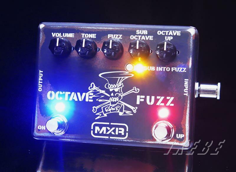 MXRSF01 [Slash Octave Fuzz]【送料無料】【9Vアダプタープレゼント】