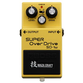 BOSS 《ボス》SD-1W(J) [MADE IN JAPAN] [SUPER OverDrive 技 Waza Craft Series] 【あす楽対応】【oskpu】【IKEBE×BOSSオリジナルデザイン缶クージープレゼント】