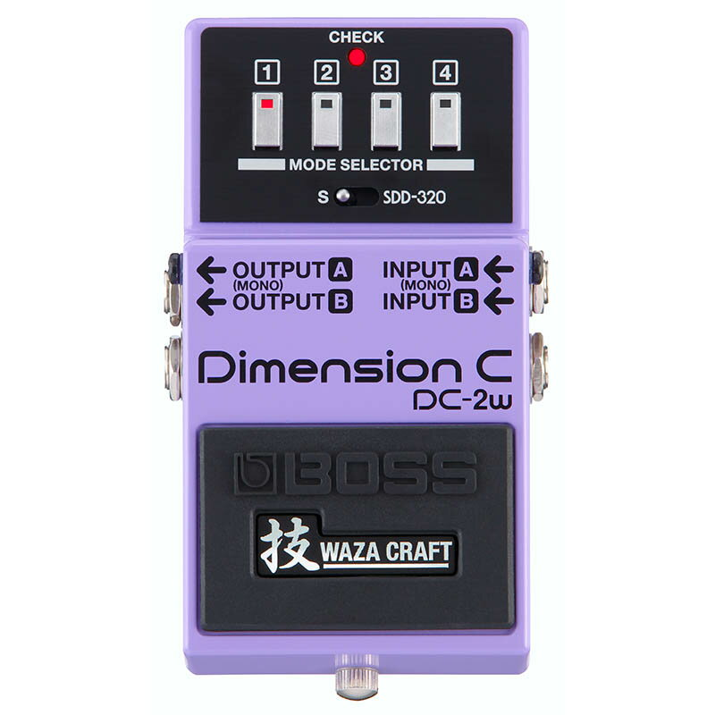 BOSSDC-2W [MADE IN JAPAN][Dimension 技 Waza Craft Series Special Edition] 【期間限定★送料無料】 【IKEBE×BOSSオリジナルデザインピックケースプレゼント】 【次回入荷分(納期未定)ご予約受付中】