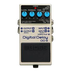 BOSS 《ボス》 DD-8 [Digital Delay] 【数量限定!純正アダプターPSA-100S2プレゼント!】【あす楽対応】【oskpu】