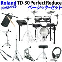 Roland 《ローランド》 TD-30 Perfect Reduce Basic Set / Single Pedal 【oskpu】