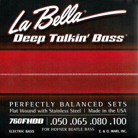 "La Bella 《ラベラ》 【760F HBB】for Hofner ""Beatle Bass"""