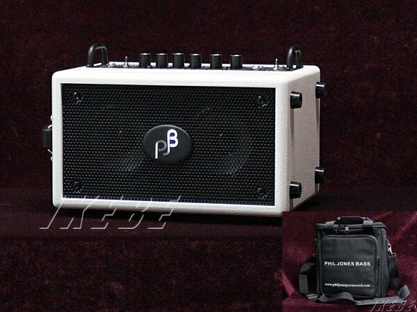 PJB(Phil Jones Bass) 《フィル・ジョーンズ・ベース》Double Four BG-75 (WHITE)w/Bag For Double Four [専用キャリングケース] SET