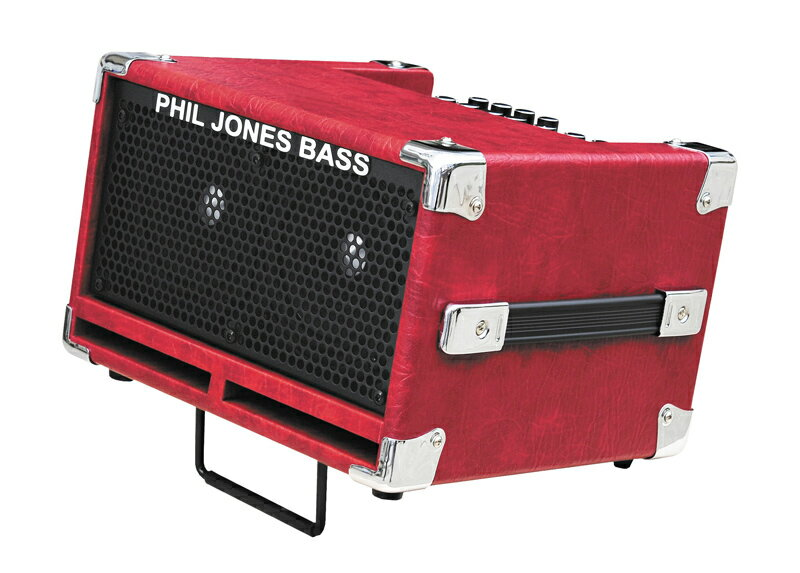 PJB(Phil Jones Bass) 《フィル・ジョーンズ・ベース》BASS CUB II (Red) 【あす楽対応】【PJBダブルプレゼントキャンペーン!】