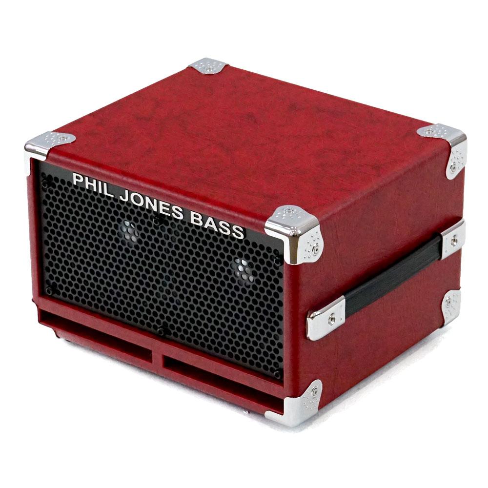 PJB(Phil Jones Bass) 《フィル・ジョーンズ・ベース》BC-2 (Red)[Speaker Cabinet]【PJBダブルプレゼントキャンペーン!】