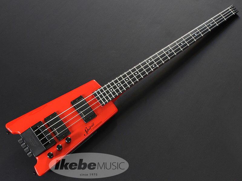 STEINBERGER《スタインバーガー》Spirit XT-2 STANDARD Bass (HR/Hot Rod Red)【怒涛の決算大激売 2018】【あす楽対応】