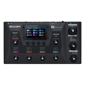 ZOOM 《ズーム》B6 [Bass Multi-Effects Processor]【あす楽対応】
