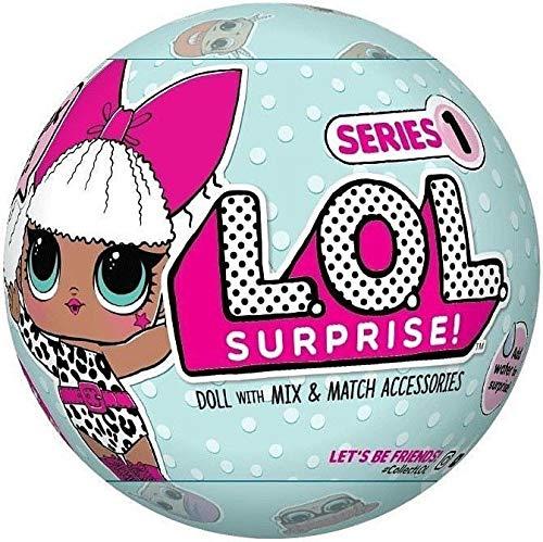 【送料無料】L.O.L. サプライズ! シリーズ1 7サプライズ ! LOL Surprise Doll Series 1 [並行輸入品]lolサプライズ エルオーエルサプライズ lol surpris