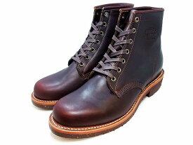 """【エントリーでポイント最大44倍】 チペワ ブーツ 6インチ サービスブーツ コードバン CHIPPEWA 1901M25 6"""" Service Boots Cordovan MADE IN USA"""