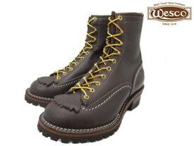 """ウエスコ ジョブマスター ブラウン メンズ ブーツ ワークブーツ WESCO 8""""JOBMASTER BR108100 Brown vibram #100"""