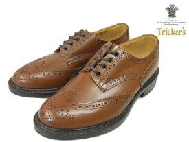 トリッカーズ バートン カントリーブーツ ウィングチップ ビーチナットアンティーク メンズ ブーツ Tricker's M5633 Bourton Country Shoe Beechnut Antique