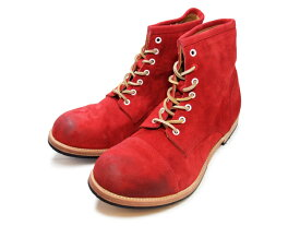インプルーヴマイセルフ/IMPROVE MYSELF IM-1109 ストレート チップ ブーツ/Straight Tip Boot レッド/RED
