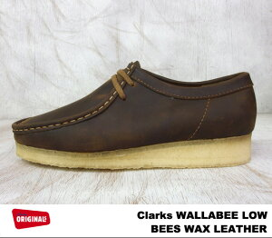 ClarksMEN'SWALLABEEBOOTBEESWAXLEATHER26103602