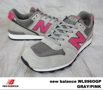 WL996OGP 新的新平衡平衡 WL996 OGP 灰色粉红色灰色/粉红色宽度: D