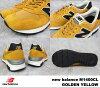 New balance M1400CL new balance M1400 CL GOLDEN YELLOW / golden-yellow WIDTH:D MADE IN USA made in USA men's women's sneakers