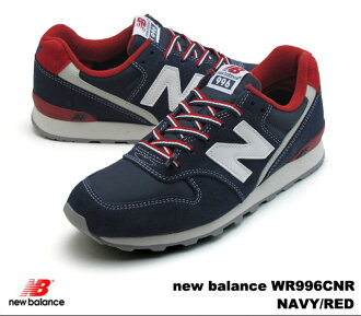 New balance 996 Navy red new balance WR996 CNR newbalance WR996CNR NAVY/RED women's sneakers