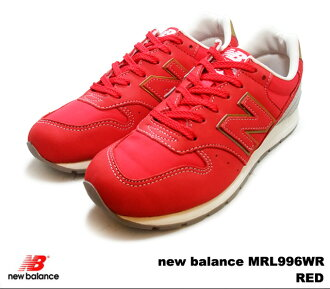New balance 996 red new balance MRL996 WR newbalance MRL996WR RED mens Womens sneakers