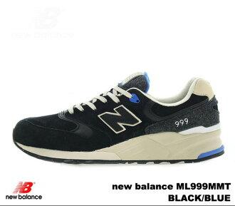 New balance 999 black blue new balance ML999 MMT newbalance ML999 MMT BLACK BLUE mens sneakers