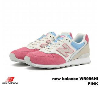新平衡 996 粉红新平衡 WR996 HI newbalance WR996HI 粉红色妇女的运动鞋