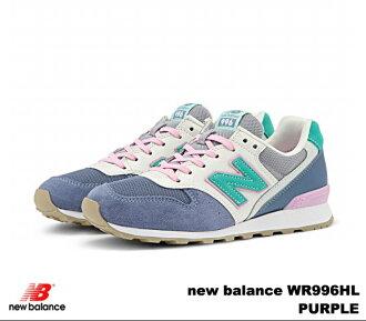 新平衡 996 紫色新平衡 WR996 HL newbalance WR996HL 紫色女式运动鞋