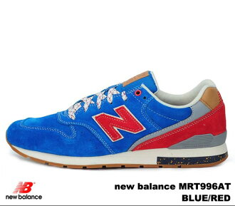 新平衡996蓝色红new balance MRL996 AT newbalance MRL996AT BLUE RED人分歧D运动鞋