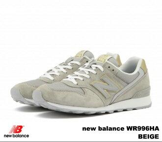 新平衡 996 米色新平衡 WR996 公顷 newbalance WR996HA 米色妇女运动鞋