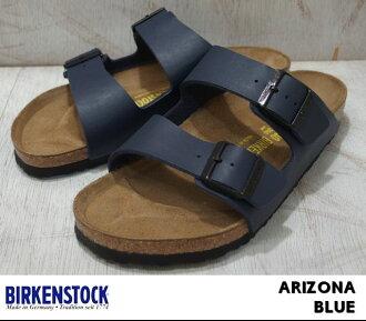 勃肯亞利桑那州男式女式涼鞋藍色勃肯亞利桑那州 051751 051753 藍色寬的窄的