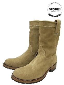 SENDRA 7133 SERRAJE 哈雷 H2O 寄件者 10 英寸 Pecos 尖靴