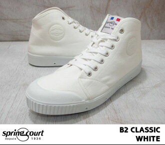 風衣B2古典M帆布中間cut SPRING COURT B2 CLASSIC M-CANVAS MID CUT白/WHITE 11097270人