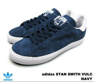 adidasusutansumisubarukaneibi adidas STAN SMITH VULC M17185 NAVY人運動鞋
