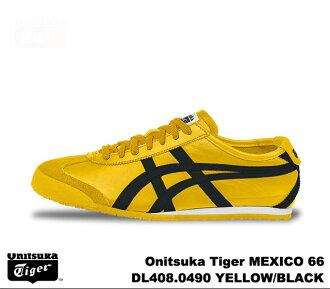 鬼冢虎 66 墨西哥黄黑鬼冢虎墨西哥 66 DL408 0490 黄色/黑色男装女装运动鞋