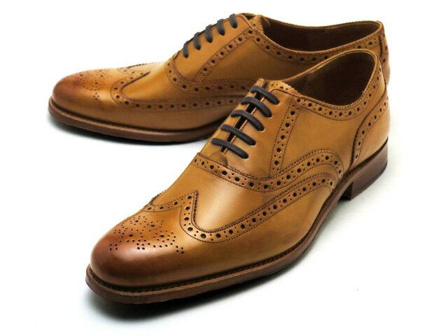グレンソン 靴 ディラン ウィングチップ タン カーフレザー メンズ シューズ GRENSON DYLAN 110014 TAN CALF LEATHER