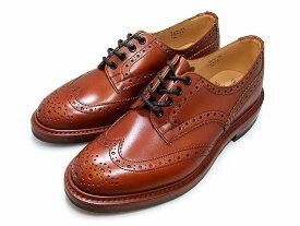 トリッカーズ バートン カントリーブーツ ウィングチップ マロンアンティーク メンズ ブーツ Tricker's M5633 Bourton Country Shoe Marron antique