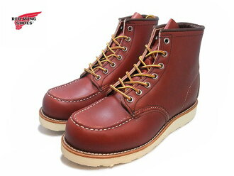 "Red Wing 8875 RED WING #8875 CLASSIC WORK 6 ""MOC-TOE Red Wing classical 6 inch MOC toe"