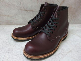 "Red Wing Beckman boots 9011 RED WING #9011 BECKMAN BOOT 6 ""ROUND-TOE Red Wing 6 inch plant"