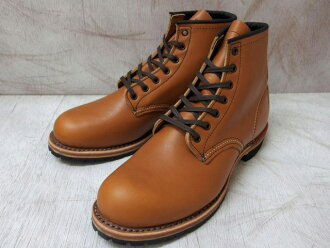 "9013 6 inches of red wing Beckman Instruments boots RED WING #9013 BECKMAN BOOT 6""ROUND-TOE red wing plane toes"