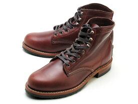ウルヴァリン 1000マイルブーツ ダークブラウン レザー メンズ ブーツ ウルバリン WOLVERINE 1000 MILE BOOT EVANS W40196 Dark Brown MADE IN USA
